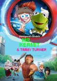 Mr kermit and timmy turner poster