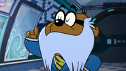 Penfold with Colonel K's Mustache 1