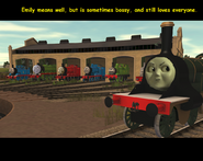 Poor Emily means well, but is sometimes bossy, and still loves Thomas.