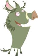 Skunk Fu Pig