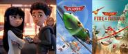 Alex and Addie McAllister likes Planes Movies