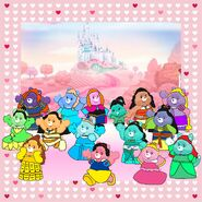 Care Bears as Disney characters