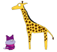 Chowder meets Giraffe