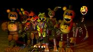Ignited animatronics
