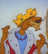 Prince John in Robin Hood