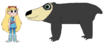 Star meets Spectacled Bear