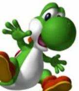 Yoshi in Mario Party 4