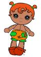 Baby Pumpkin Candle Light