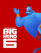 Big Hero Six (Davidchannel's Version) Poster