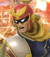 Captain Falcon in Super Smash Bros. For Wii-U and 3DS
