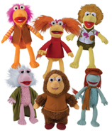 Fraggles and Junior Gorg plush