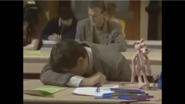 Mr Bean Crying in School