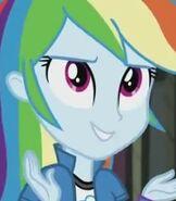 Rainbow Dash in My Little Pony- Equestria Girls Friendship Games