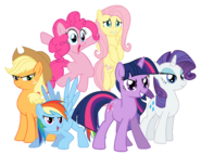 The Ponies Girls (My Little Pony - The Movie)