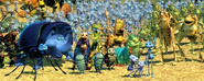 Various A Bug's Life Characters (A Bug's Life)