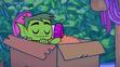 Beast Boy (Teen Titans Go!) Sleeping