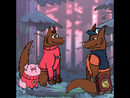 Dipper and Mabel Pines as Wolves
