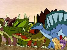 The Dino Herd Rising Their Heads Up.jpg