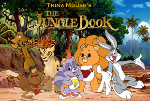 Trina Mouse's The Jungle Book (1967) Poster.png