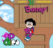 Barney's Anniversary(Redrawn)
