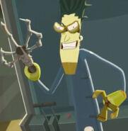 Doktor Frogg's Evil Grin