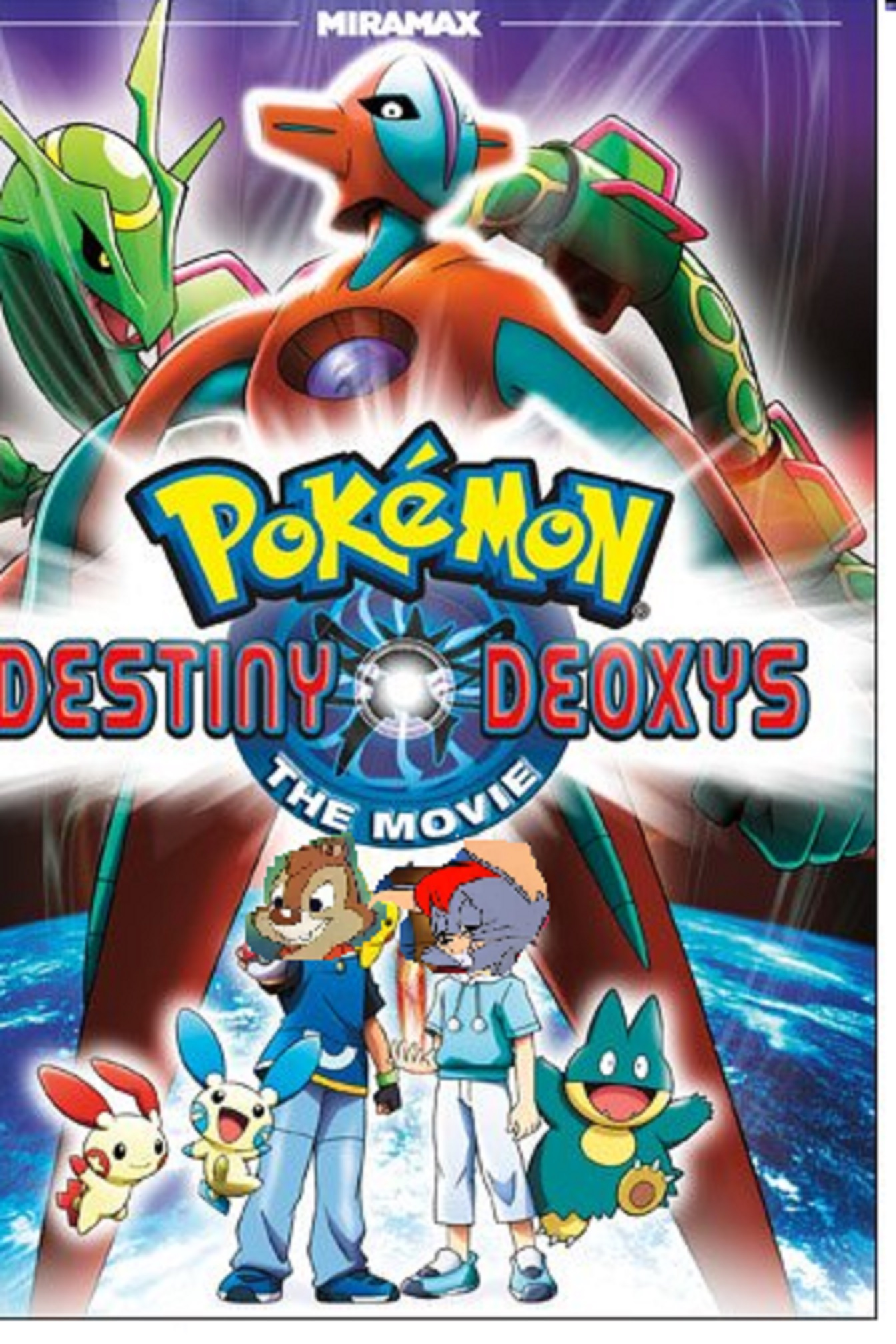 Pokemon Destiny Deoxys (TheBluesRockz Animal Style)