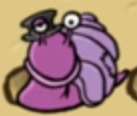 Hugo jungle island 2 beetle battle purple snail