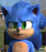 Sonic in Sonic the Hedgehog (2020) Commercial