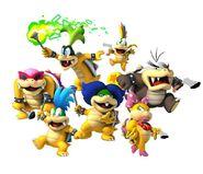 Super Mario Bros. Villains as Hunters