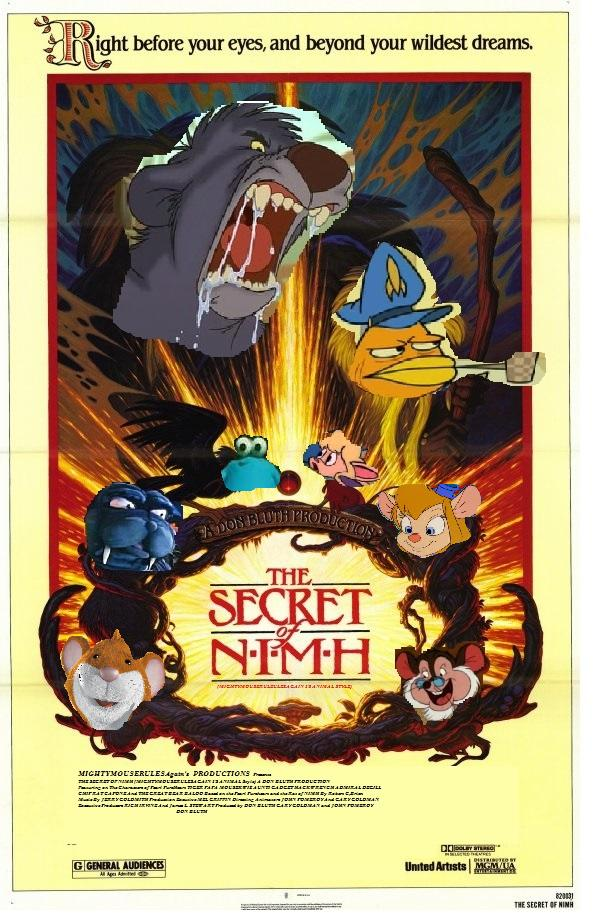 The Secret of NIMH (MightyMouseRulezAgain 1's Animal Style)