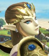 Zelda in Super Smash Bros. for Wii-U and 3DS