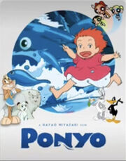 Bugs and Daffy Meets Ponyo Poster.jpeg