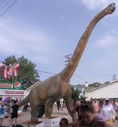 DinoStroll Brachiosaurus
