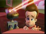 Jimmy Neutron Goddard using his lasers