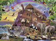 Noah's Ark Rhinos Elephants Wombats Kangaroo Rats Rattlesnakes