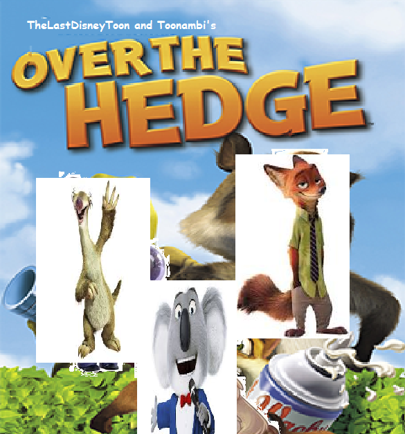 Over the Hedge (TheLastDisneyToon and Toonmbia Style) (Version 2)