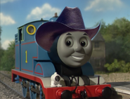 Thomas with cowboy hat Model Series