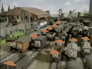 Troublesome Trucks as Hunters and Livingstones.