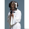 Astrid Dressing Up as Leia Organa