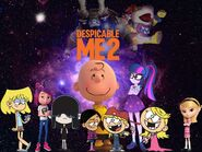 Despicable Me 2 (2013; Movie Poster)