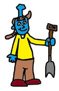 Gordon as Bearminator.