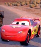 Lightning McQueen in Kinect Rush - a Disney Pixar Adventure