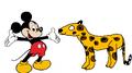 Mickey Meets Jaguar