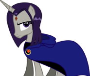 Raven with her cloak by fallingrain22 d90rube-pre