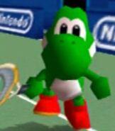 Yoshi in Mario Tennis