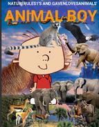 Animal Boy (Dinosaur) Poster