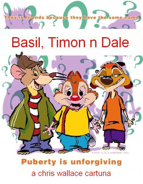 Basil, Timon n Dale (Ed, Edd n Eddy)