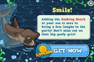 Basking shark modal