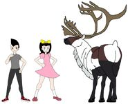 Riley and Elycia meets Woodland Caribou