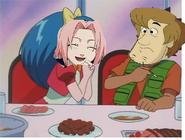 Sakura and shaggy